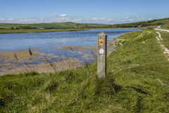Cuckmere Haven in East Sussex Stock Photography