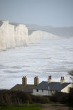 Cuckmere Haven near Seaford Royalty Free Stock Image
