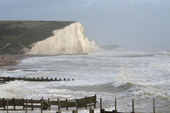 Cuckmere Haven near Seaford Royalty Free Stock Images