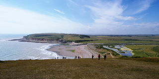 Cuckmere Haven Royalty Free Stock Photos
