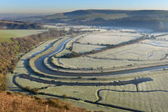 Cuckmere valley Stock Images