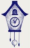 Cuckoo Clock royalty free illustration