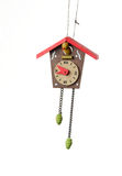 Cuckoo Clock Christmas Ornament Stock Photography