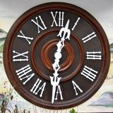Cuckoo Clock Dial Royalty Free Stock Image