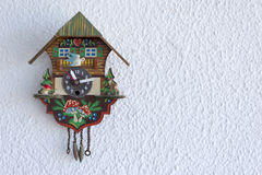 A cuckoo clock Royalty Free Stock Photos