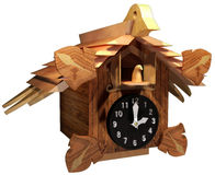 Cuckoo clock Royalty Free Stock Photos
