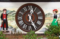 Cuckoo Clock. The largest cuckoo clock in the world in Triberg royalty free stock images
