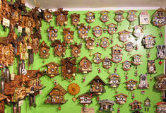 Cuckoo Clocks, Germany Royalty Free Stock Photo