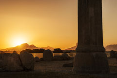 Cucoloris of Persepolis ruins,Shiraz Iran Stock Images