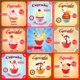Cucp cakes Royalty Free Stock Images