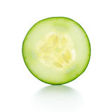 Cucumbe slice Royalty Free Stock Image