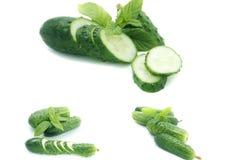 Cucumbe verde Fotografia Stock Libera da Diritti