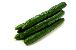 Cucumber. Cooking ingredient series cucumber. for adv etc. of restaurant,grocery,and others royalty free stock images