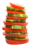 Cucumber And Tomato Royalty Free Stock Images