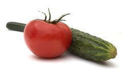 Free Cucumber And Tomato Stock Images - 1941344