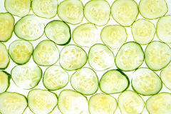 Cucumber background Stock Image