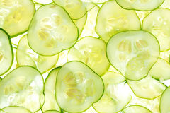 Cucumber background Royalty Free Stock Images