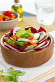 Cucumber and Beetroot salad Royalty Free Stock Photography