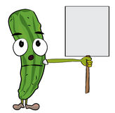 Cucumber characters illustration Royalty Free Stock Photography