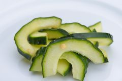 Cucumber closeup Royalty Free Stock Images