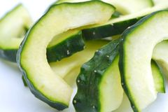 Cucumber closeup Stock Image