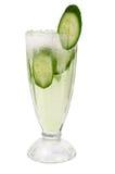 Cucumber cocktail  closeup Stock Photo