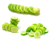Cucumber collage Royalty Free Stock Image