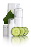 Cucumber Cosmetics Stock Photo