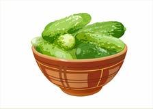 Cucumber_dish Stock Photos