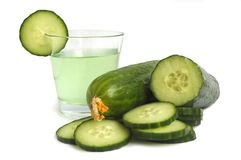 Cucumber drink Stock Photography