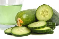 Cucumber drink Royalty Free Stock Photos