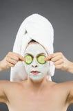 Cucumber Eyes Royalty Free Stock Image