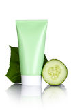 Cucumber Face Mask Royalty Free Stock Photos