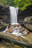 Cucumber Falls Downstream Royalty Free Stock Image