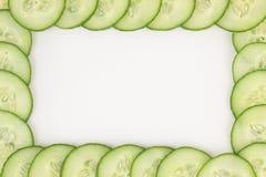 Cucumber frame. Stock Image