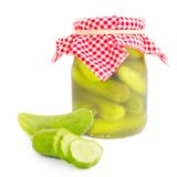 Cucumber glass Royalty Free Stock Photo