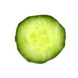 Slice of cucumber macro Royalty Free Stock Photos