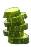 Cucumber on isolated Royalty Free Stock Photo