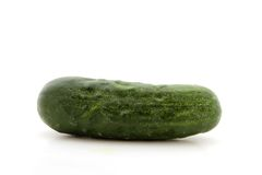 Cucumber isolated over white Stock Image