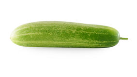 Cucumber isolated over white background Stock Images