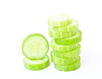 Cucumber isolated Royalty Free Stock Photography