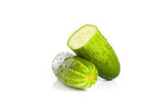 Cucumber isolated on white background Stock Images