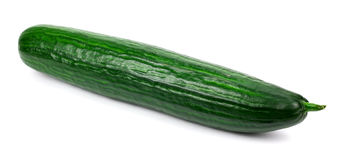 Cucumber isolated on white background Royalty Free Stock Image
