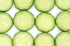 Cucumber isolated on white background close up. Cucumber isolated on white background close up Royalty Free Stock Photos