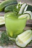 Cucumber  juice Stock Photography