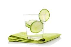 Cucumber lemonade. Royalty Free Stock Images