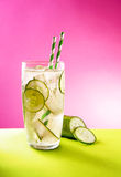 Cucumber Lemonade Stock Photo