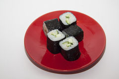 Cucumber maki Stock Images