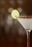 Cucumber martini Stock Images