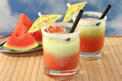 Cucumber Melon Smoothie Stock Image